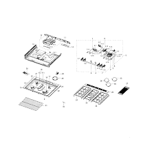 samsung gas range parts model nx58h9500wsaa0000 sears partsdirect