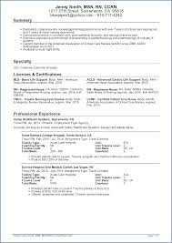 Sample Nursing Resume New Grad Er Nursing Resume Sample New Resume ...