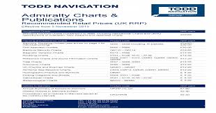 Admiralty Chart Symbols Admiralty Charts Publications Todd Charts Publications