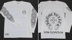 Chromic Hertz Chrome Hearts Men Long T Shirt Xxl Size White White