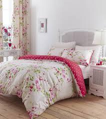peonies and polka dots bedroom linens