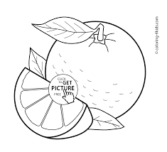 Small Picture fruits coloring pages for kids printable free