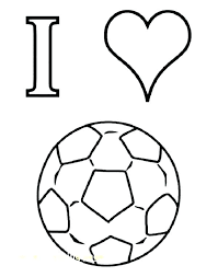 Soccer Coloring Sheet Soccer Coloring Pages For Kids Of Players