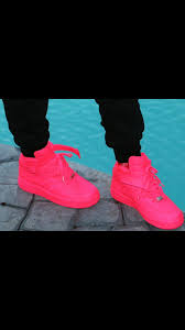 nike shoes high tops hot pink. shoes: air forces hot pink, neon pink nike force 1s., air, 1 high top, shoes, tops, socks, dress, style, shoes tops e