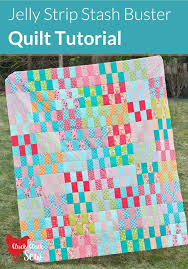 116 best Jelly Roll Quilts, Strip Quilts, String Quilts images on ... & Jelly Strip Stash Buster Quilt Tutorial--use leftover jelly roll strips Adamdwight.com