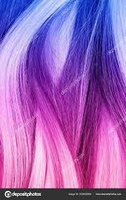 Barevné Obarvené Vlasy Pohled Shora Módní účes Stock Fotografie