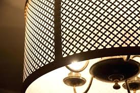 metal drum light learn how to make your own gorgeous drum pendant for the chandelier metal drum light