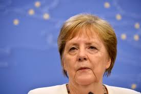 Does Angela Merkel speak English and is she in good health?
