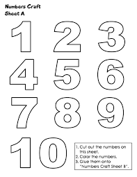 number templates 1 10 15 best math images on pinterest numbers print templates and