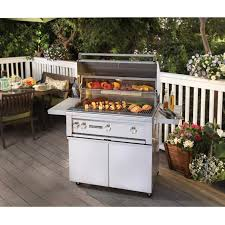 sedona by lynx 36 inch propane gas on cart grill with prosear burner and rotisserie