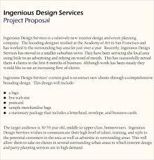 Sample Interior Design Proposal Magdalene Project Org