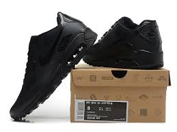 nike shoes black. newest style nike air max 90 hyperfuse qs men\\\u0027s shoes all black online