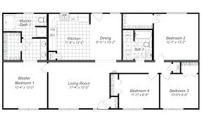Amazing 4 Bedroom Floor Plan. 8 X 13 Bedroom Modern 4 House Layout Designs Fanciful  Design