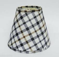 plaid lamp shade 1 of 3 country plaid fabric chandelier lamp shade multi color traditional any