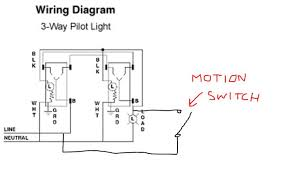 how to add pilot light capability to 3 way switches a motion how to add pilot light capability to 3 way switches a motion sensor