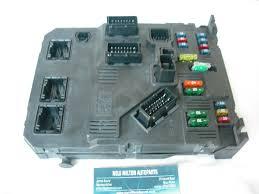 citroen picasso interior fuse box control module siemens citroen picasso interior fuse box control module siemens s118085320 c bsi e01 00 9652474680
