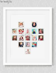 shaped photo collage heart shaped photo collage