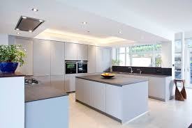Modern German Kitchen Designs Matt Grey Holywood Kitchen