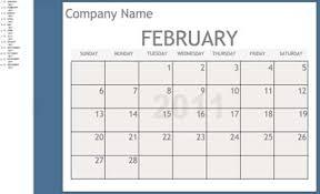 calendar template for powerpoint calendar powerpoint templates