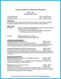 16 Office Manager Resume Objective Job And Template For Veterinary