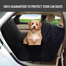 uk pet car seat cover dog safety mat cushion rear back seat protector hammock m2