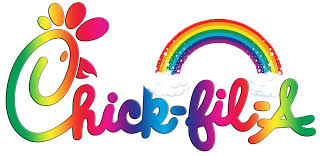 New Chick-fil-a Rainbow logo : funny