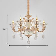 clear glass chandelier in gold chandeliers