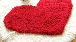 inspiring heart shaped rug at adorable in rag crochet pattern on rugs emedics co