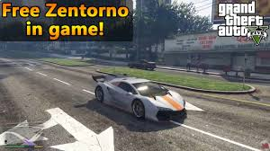 In Free - Spawn Car Youtube Theft Location Zentorno Auto gta 5 Grand Pc V Super Game
