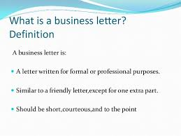Business Letter Definition Template Magnificent Business Letter Definition Template Lezincdc