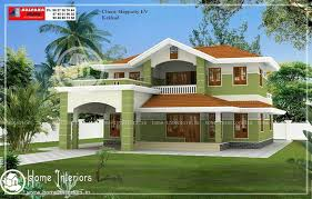 Small Picture Beautiful Double Floor Home Design With Free Home Plan
