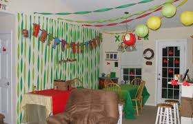 living room for a birthday party