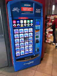 Arizona Lottery Vending Machines Magnificent Lottery Scratchers Vending Machine Yelp