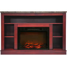 seville electric fireplace with log insert and cherry inserts quick view vent free gas blower heaters