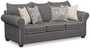 Grey Sofa Chair Carla Sofa Gray Value City Furniture