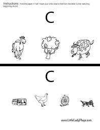 Alphabet Friday Letter C with Free Printables and Worksheets