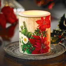 Weihnachtsstern Kerze