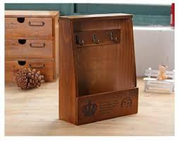 handmade boxes cargo organizer storage box simple small key hanging storage case phone box wood