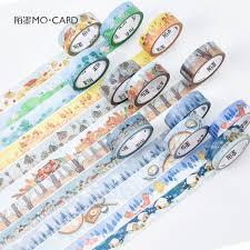 compare prices on term papers online shopping buy low price 20 pcs lot diy ese paper decorative adhesive tape cartoon 24 solar terms washi tape