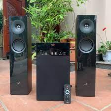 Bán Dàn âm thanh nghe nhạc, karaoke - Loa cây vỏ gỗ SKY NEW model SKN 325 -  Có kiển từ xa, bluetooth, nghe nhạc qua USB, thẻ nhớ SD chỉ 1.689.000₫