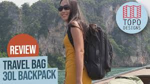 Topo Designs Travel Bag 30l Review Topo Designs 30l Travel Bag Review