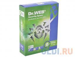Антивирус <b>Dr</b>. <b>Web Security</b> Space 3 ПК/1 год (BHW-B-12M-3-A3 ...