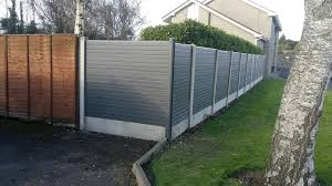 rotten timber panels replaced by pvc panels in grey