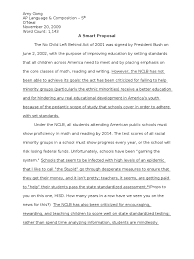 ap english satire essay no child left behind no child left ap english 3 satire essay no child left behind no child left behind act psychology cognitive science