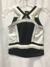 Alleson Cheer Size Chart Details About Rhythm Cheerleading Shell New Alleson C180 C180y Cheer Top