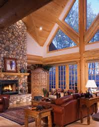 Log Home Interiors Yellowstone Log Homes Log Cabin Pinterest - Log home pictures interior
