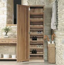 hallway storage cabinet. Image Is Loading Mobelsolidmodernoakhallwayfurnituretallshoe On Hallway Storage Cabinet