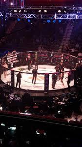 Mohegan Sun Arena Section 106 Row B Seat 9 Bellator