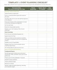 Party Planning Templates Event Planning Checklist Template Free Findpage Co