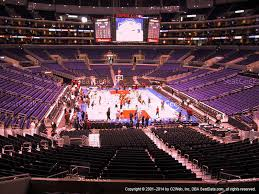 Lakers Seating Chart View Staples Center Seating Chart Concerts Www